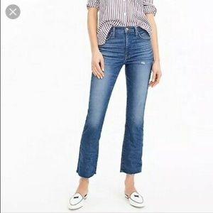 J.Crew   Billie Denim Boot Crop Jeans